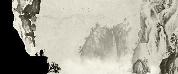 东方禅意水墨动画《一维》
