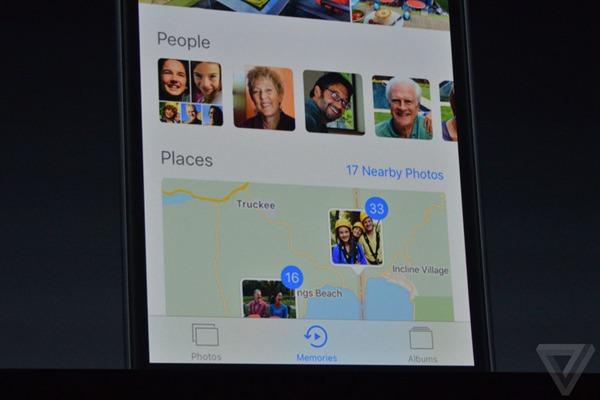 iOS 10相册界面