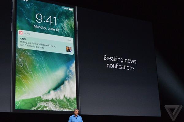 iOS 10新闻功能