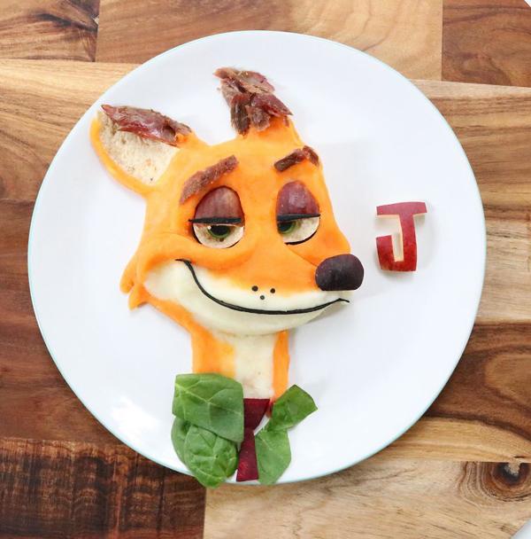 《疯狂动物城》中的狐狸尼克