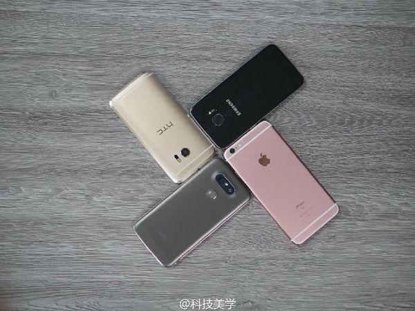 四大旗舰手机对决 S7 Edge/LG G5/HTC 10/iPhone