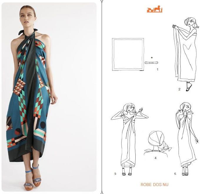 衣服脏了想继续穿,或者想快速改变造型,搭配围巾,分分种就行