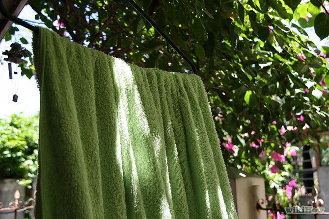 衣服洗干后对折挂衣架