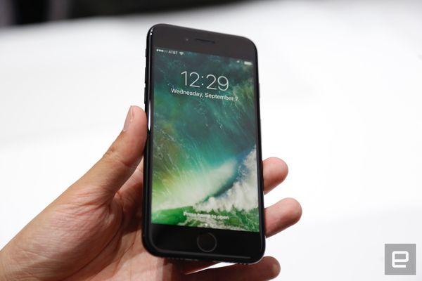苹果 iPhone 7正面