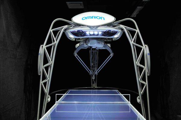 乒乓球陪练机器人欧姆龙 Forpheus