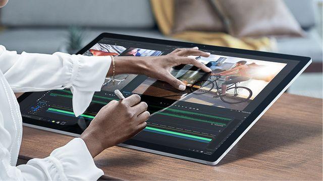 微软一体机 Surface Studio数字工作台