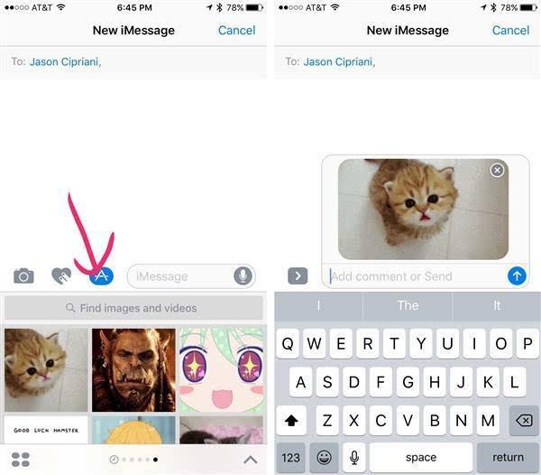 iOS 10 的内置图像搜索