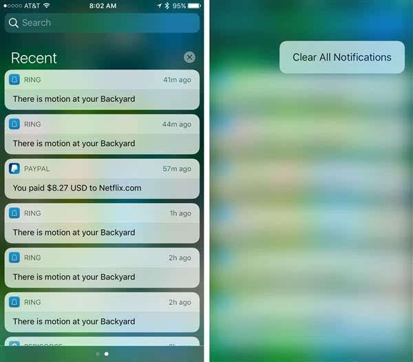 iOS 10 清除所有通知