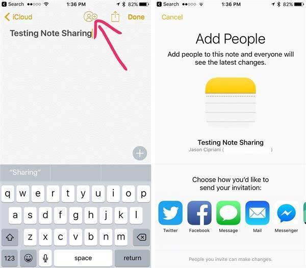 iOS 10 在笔记功能上进行工作分享