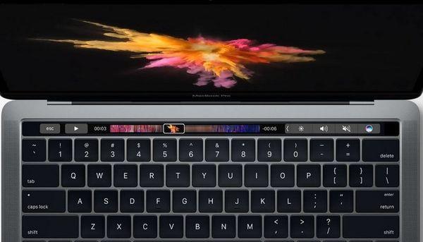 苹果MacBook Pro Touch Bar 使用教程