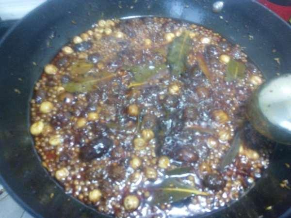 学做川式火锅底料