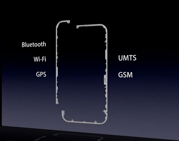 iPhone 4 天线设计
