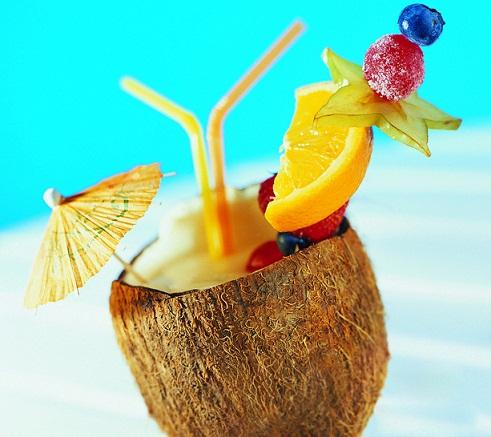 夏季鲜榨果汁