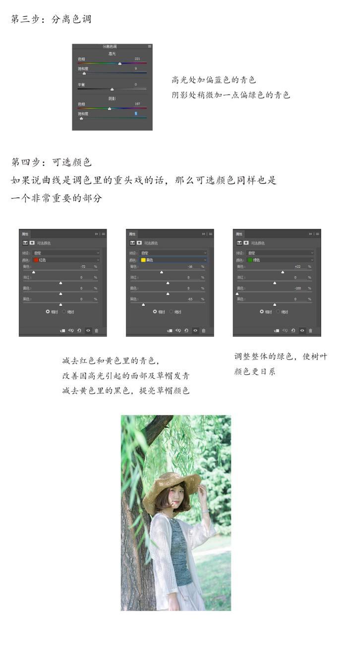简单实用的日系小清新风格摄影后期教程4