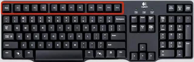 键盘图功能区