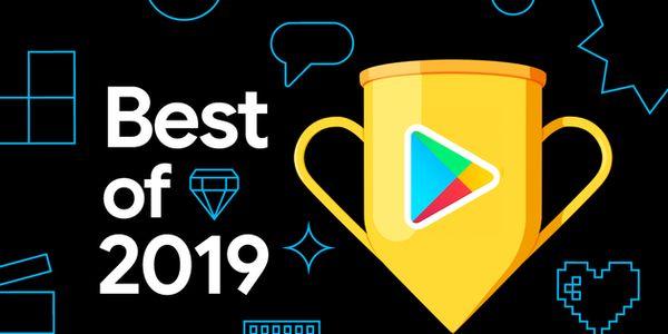 """Google Play""""2019 年度最佳"""""""