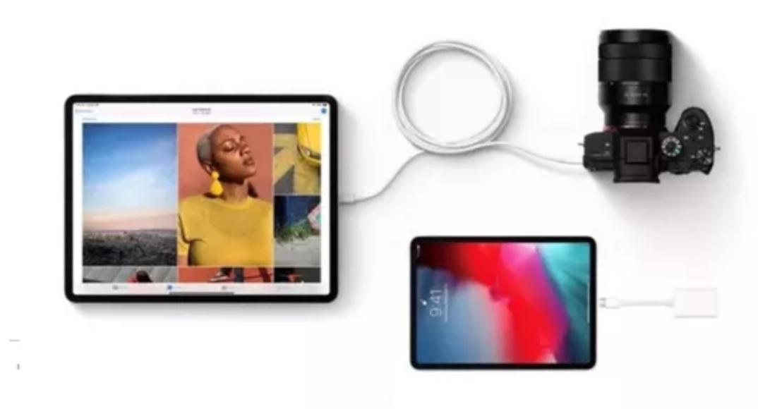 有了Type-C接口,iPad 可以轻松外接其他设备