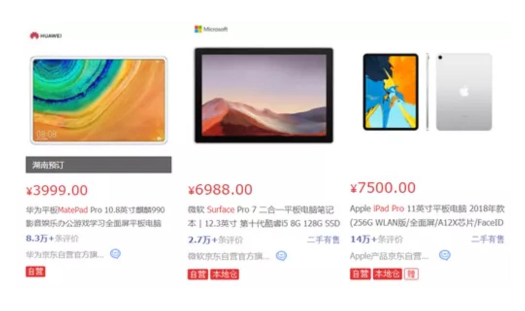 iPad pro却是当之无愧的销量冠军