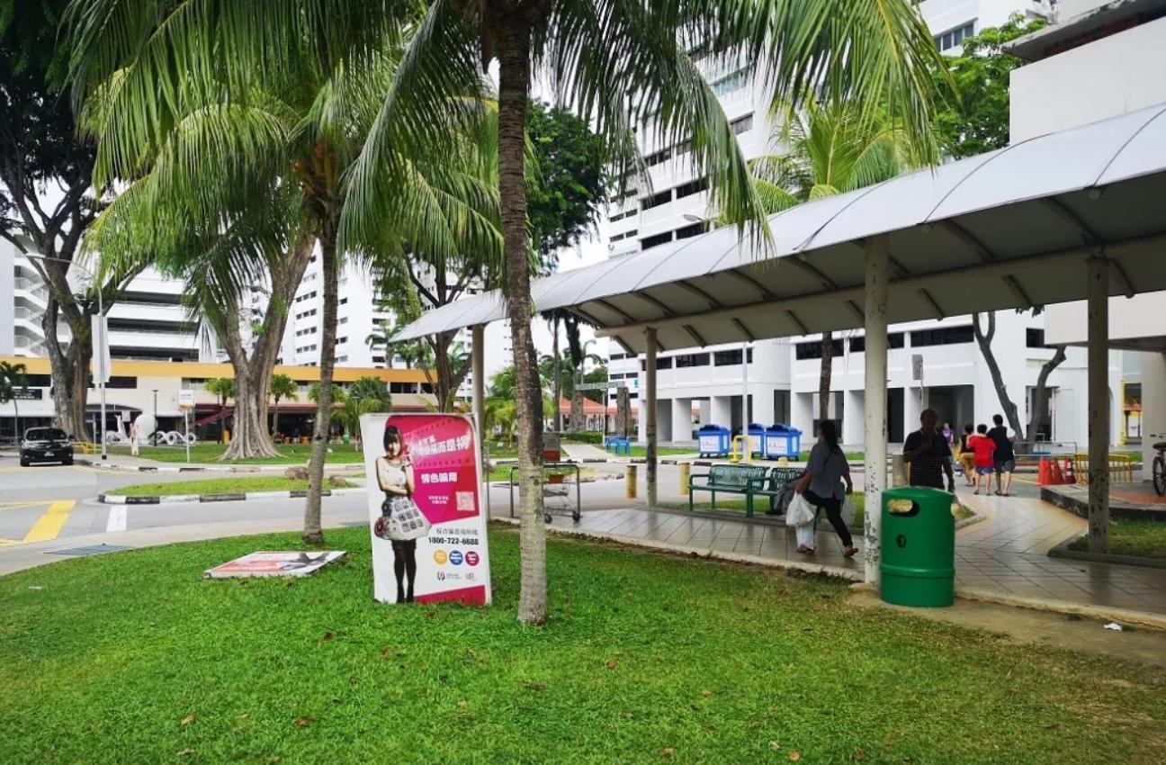 新加坡的组屋住宅区