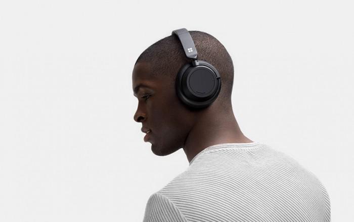 Surface Headphones 2佩戴图