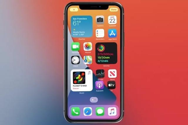 iOS14让iPhone桌面改变最大的一次更新