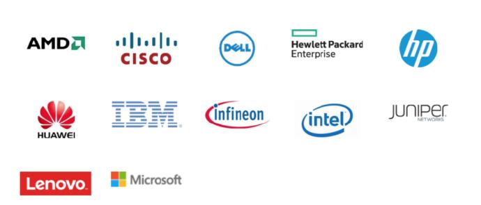 TCG组织囊括了世界IT业顶尖巨头