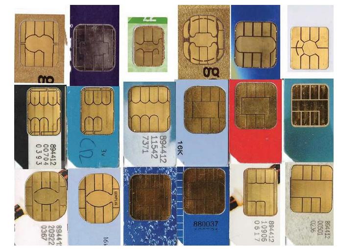 不同模组厂的芯片图案经常是不一样的